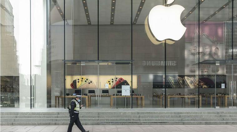 वैश्विक स्तर पर एप्पल के लगभग आधे रिटेल स्टोर खुल गए
