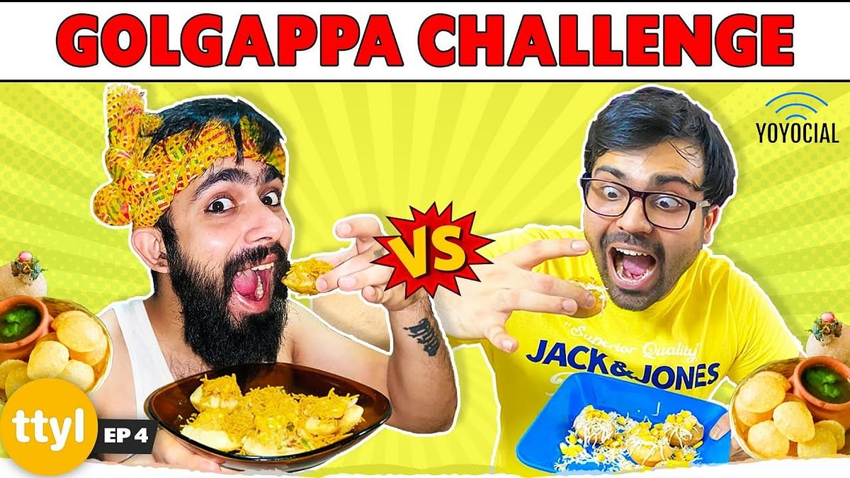 Cheese Golgappa Vs Tandoori Golgappa | Homemade Golgappa Making Challenge