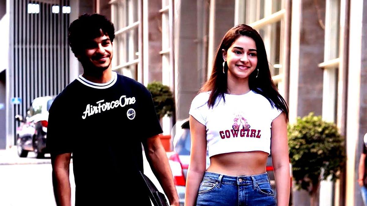 ishan khattar and ananya pandey