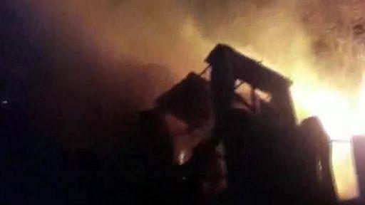 महाराष्ट्र: नासिक में कारखाने में लगी आग, फायर ब्रिग्रेड ने कई घंटे बाद पाया काबू