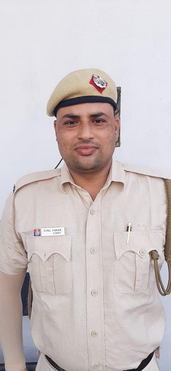 Constable Sunil Kumar