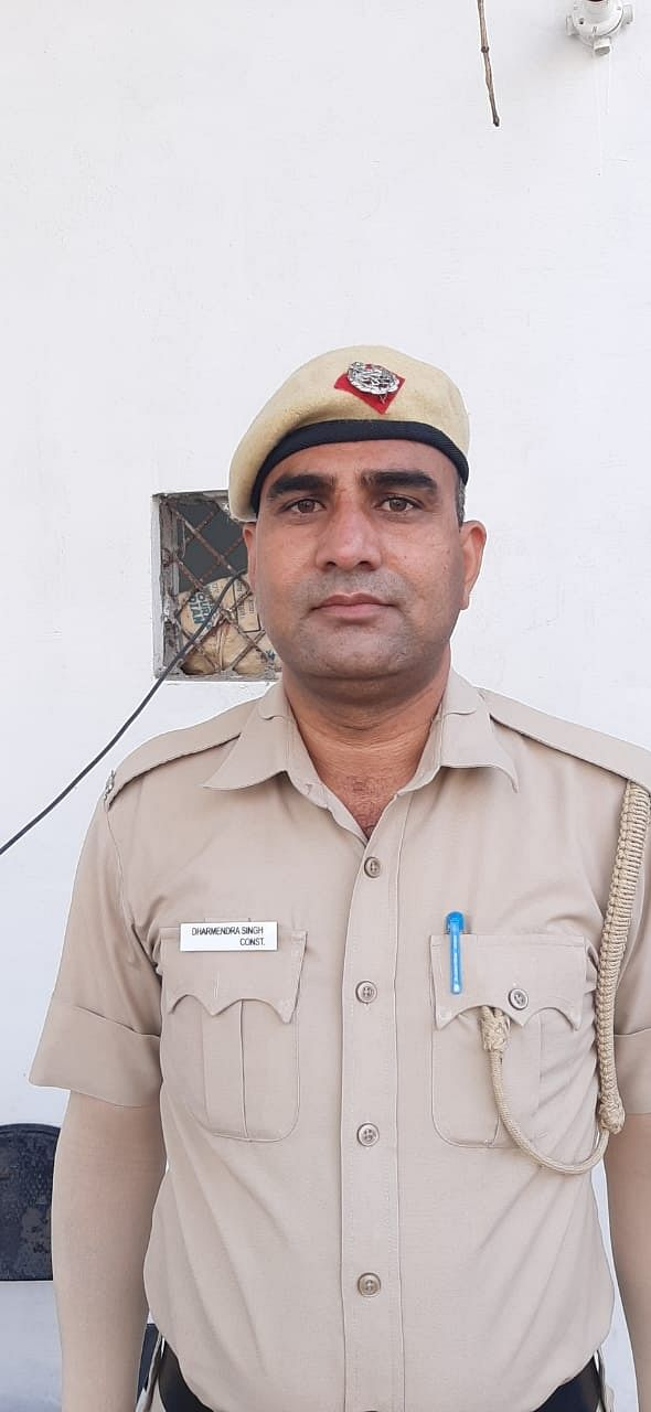 Constable Dharmendra Singh