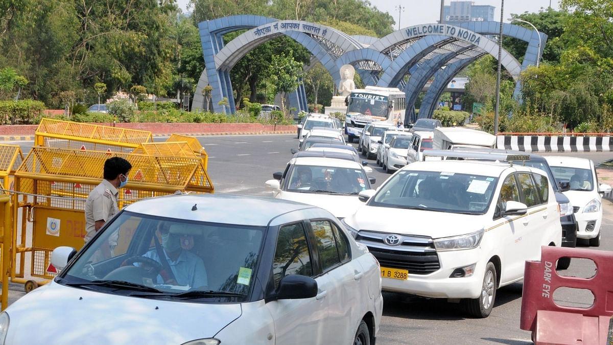 Noida Delhi Border