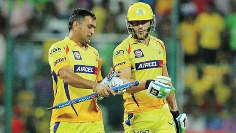 MSD and Faf Du Plessis