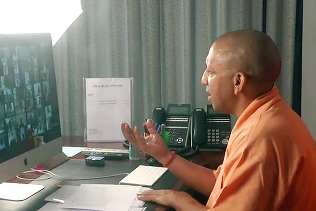 yogi on video conferencing