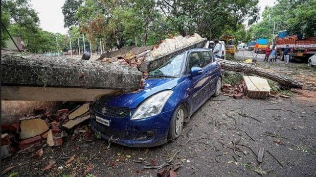 अम्फान से बंगाल के बड़े तटीय इलाके कोख्त्र हो सकता है (फाइल फोटो)