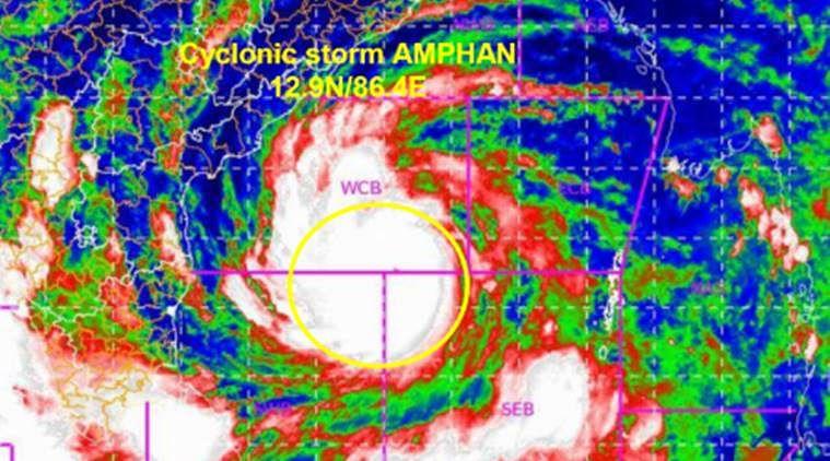 Amphan leaves bad impact on Tamilnadu
