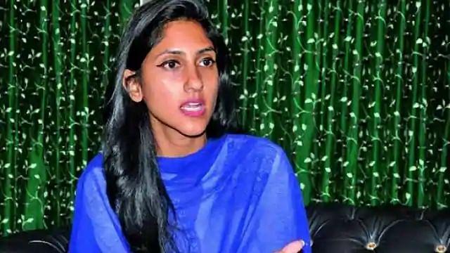 Suspended Congress MLA Aditi Singh
