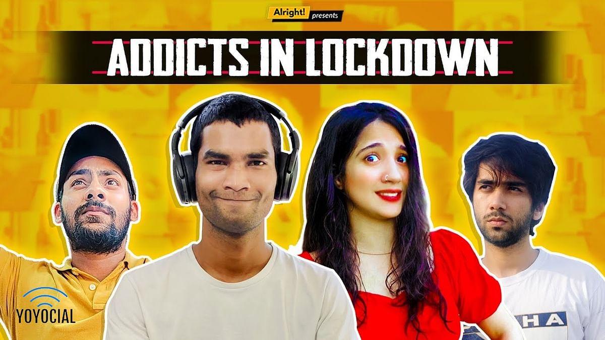 Types Of Addicts During Lockdown | Ft. Nikhil Vijay, Mehek Mehra