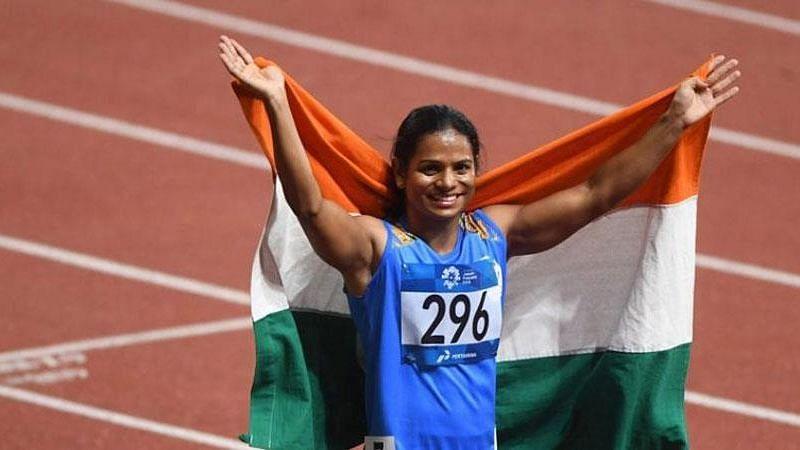 Indian Sprinter, Dutee Chand