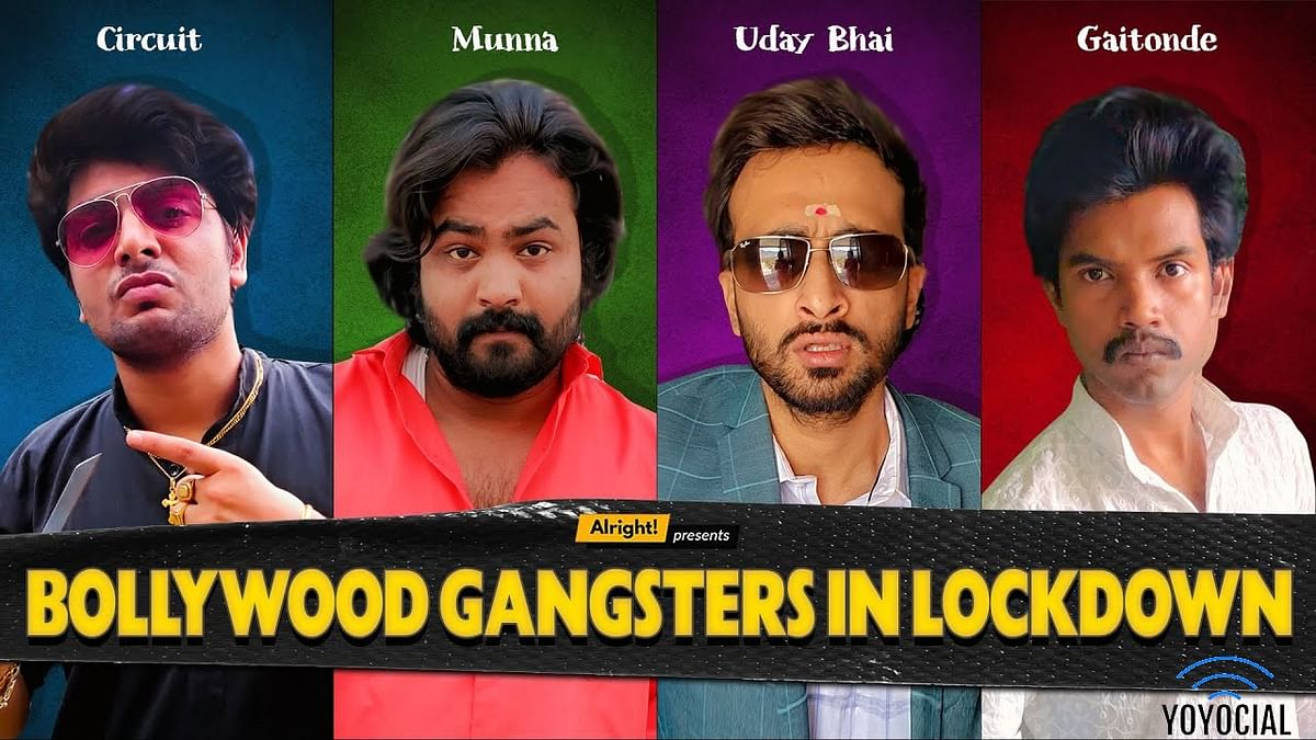 Bollywood Gangsters In Lockdown | Ft. Abhinav Anand (Bade), Ankit Motghare, Karpoor & Akhil