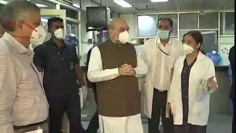 Video: अमित शाह ने लिया दिल्ली के LNJP अस्पताल में कोरोना से बचाव की तैयारियों का जायजा
