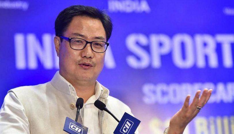 Sports Minister, Kiren Rijiju