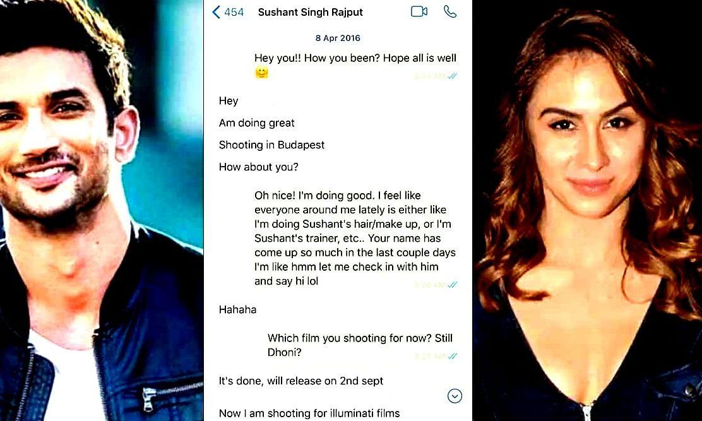 सुशांत की क्या बात हुई थी लॉरेन गॉटलिब से? एक्ट्रेस ने शेयर कर दिया screenshot