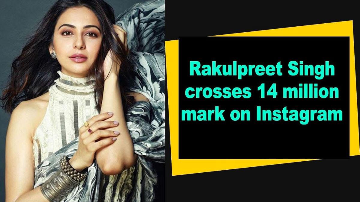 Rakulpreet Singh crosses 14 million mark on Instagram