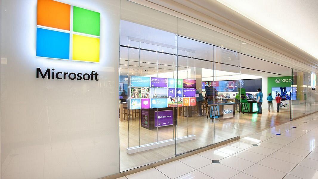 Microsoft retail store (file photo)