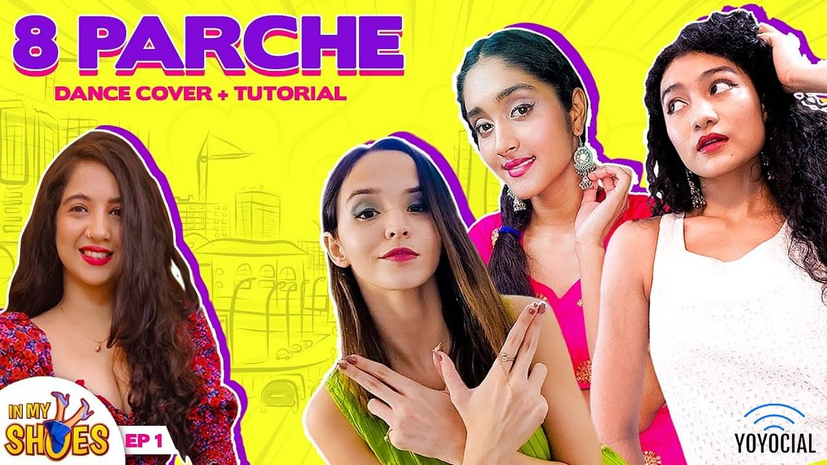 8 Parche Bollywood Dance Choreography| Cherry Bomb ft. Mehek Mehra
