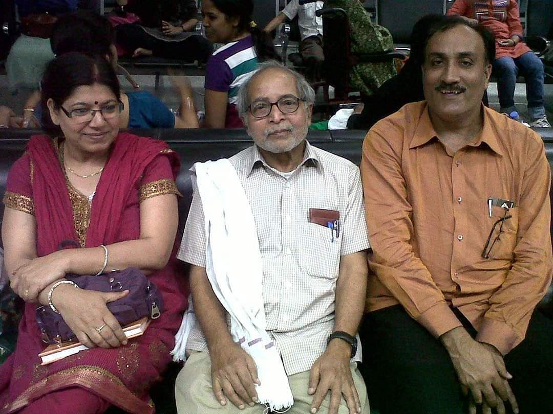 Chitranjan Singh, Bodhisatva and Abha Bodhisatva