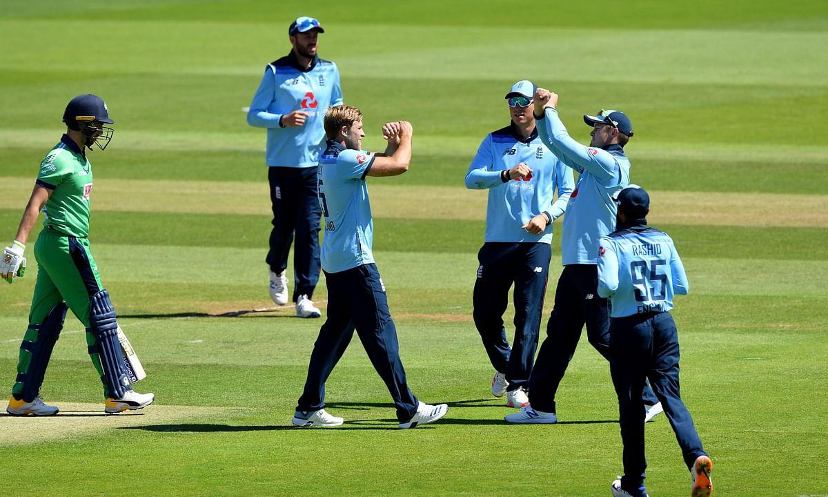 ICC विश्वकप सुपरलीग: सैम बिलिंग्स की अर्धशतकीय पारी से जीता इंग्लैंड, आयरलैंड को 6 विकेट से हराया