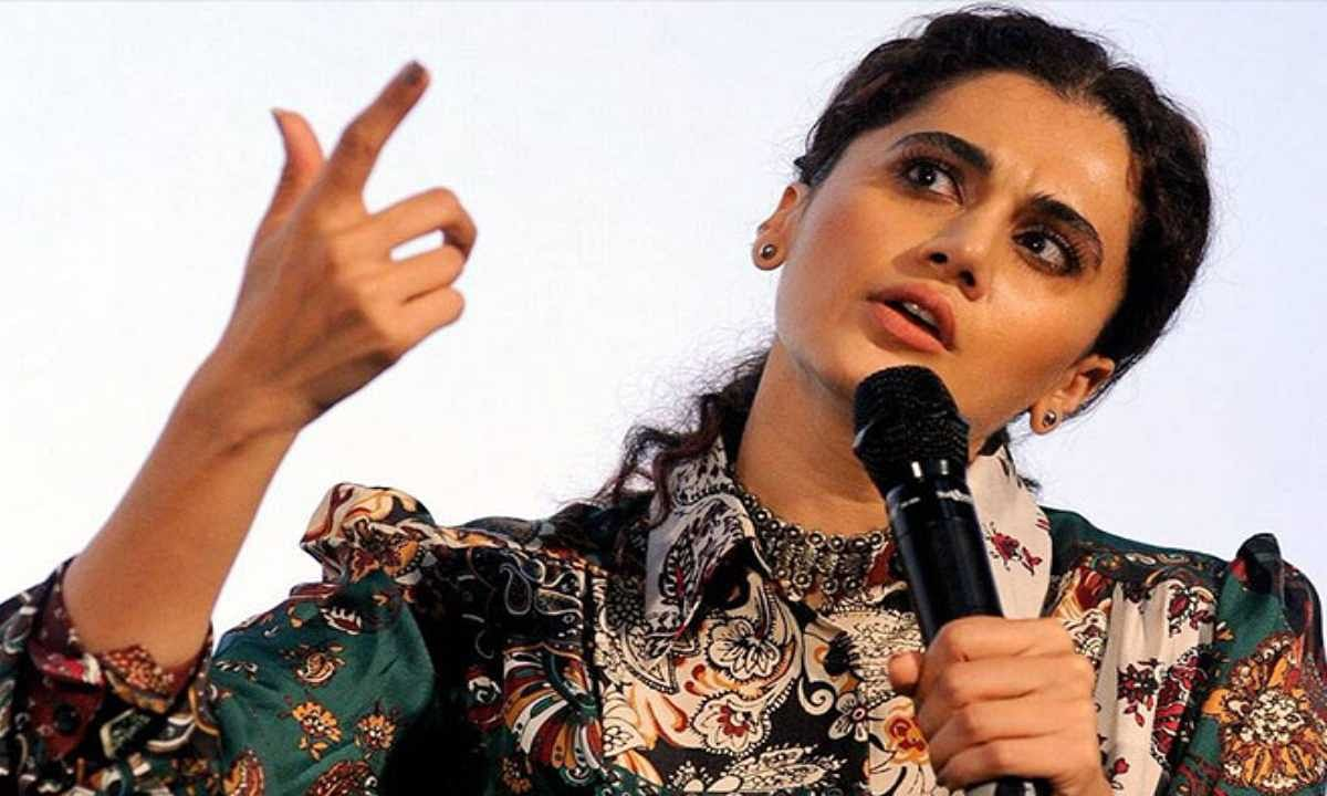 कानपुर एनकाउंटर पर क्या बोल दीं तापसी पन्नू, कि सोशल मीडिया पर हो गईं ट्रोल