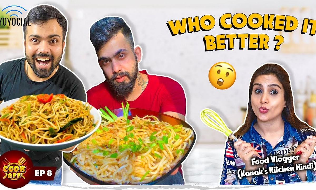 Chinese Noodles vs Desi Noodles | Homemade Cooking Challenge