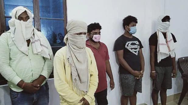 गोरखपुर: गिरफ्तार अभियुक्त