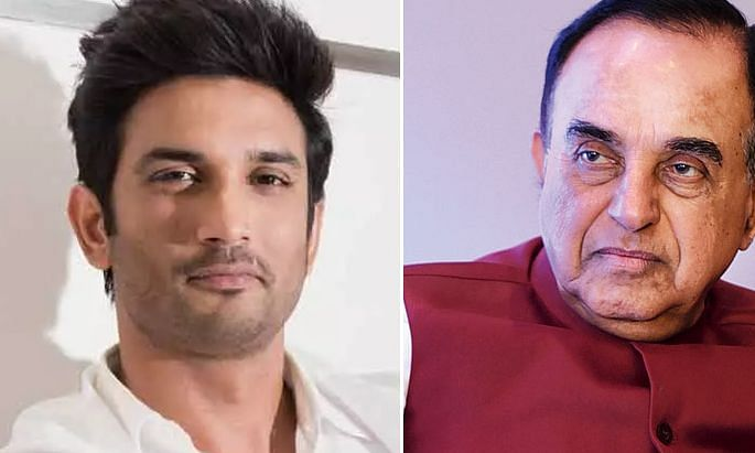 sushant singh rajput and subramanian swamy