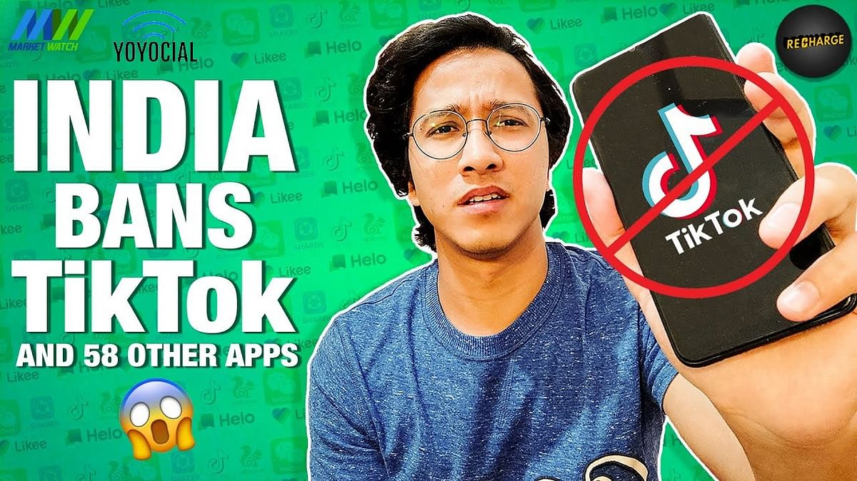 Tiktok Banned in India by Govt | Ban on Chinese Apps EXPLAINED