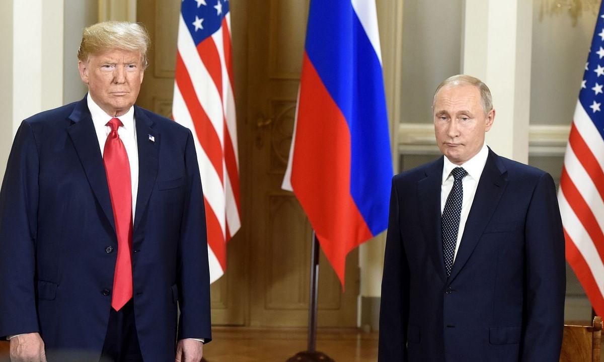 पुतिन और ट्रंप ने रणनीतिक स्थिरता, हथियारों पर नियंत्रण जैसे मुद्दों पर चर्चा की