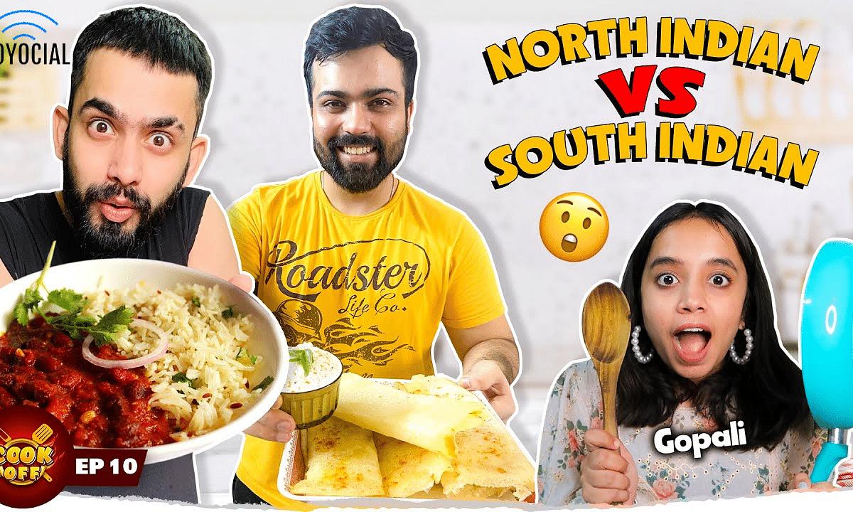 Rajma Chawal Vs Dosa Cooking Challenge