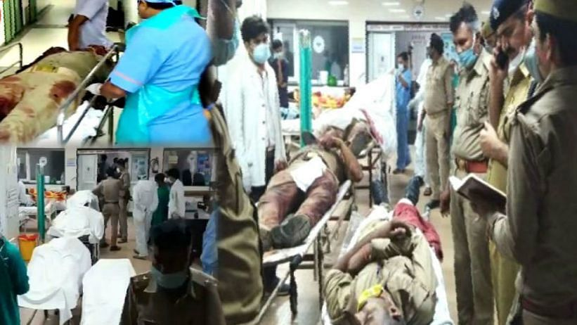 कानपुर एनकाउंटर: पुलिसकर्मियों की पोस्टमॉर्टम रिपोर्ट से कई बड़े खुलासे होंगे, जख्म देख दंग रह गए डॉक्टर भी