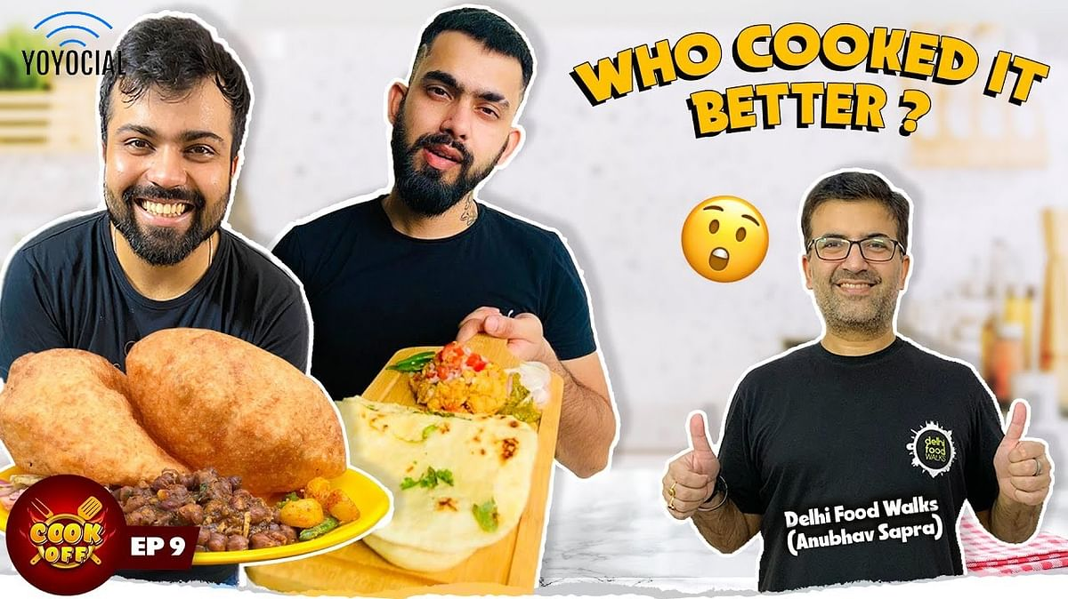 Chole Cooking Challenge Chole Bhature Challenge