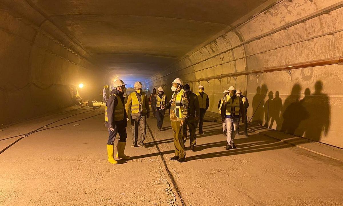 रोहतांग सुरंग की नई लंबाई 9.02 किलोमीटर तक पहुंची