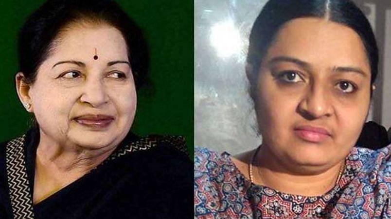 जयललिता की संपत्ति अधिग्रहण के खिलाफ मद्रास हाईकोर्ट पहुंची भतीजी दीपा