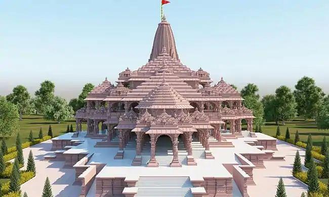 अयोध्या में शुरू हुआ राम मंदिर निर्माण, पत्थरों को जोड़ेंगी तांबे की पत्तियां