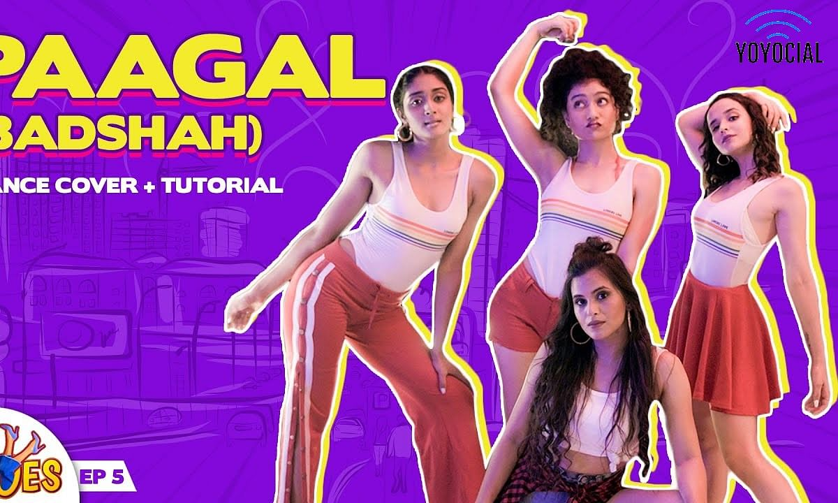 Paagal- Badshah Choreography | Cherry Bomb ft. Deepali Choudhary