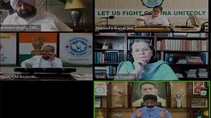 केंद्र सरकार पर राज्यों के बकाया GST और JEE-NEET एग्जाम को लेकर सोनिया ने बुलाई बैठक