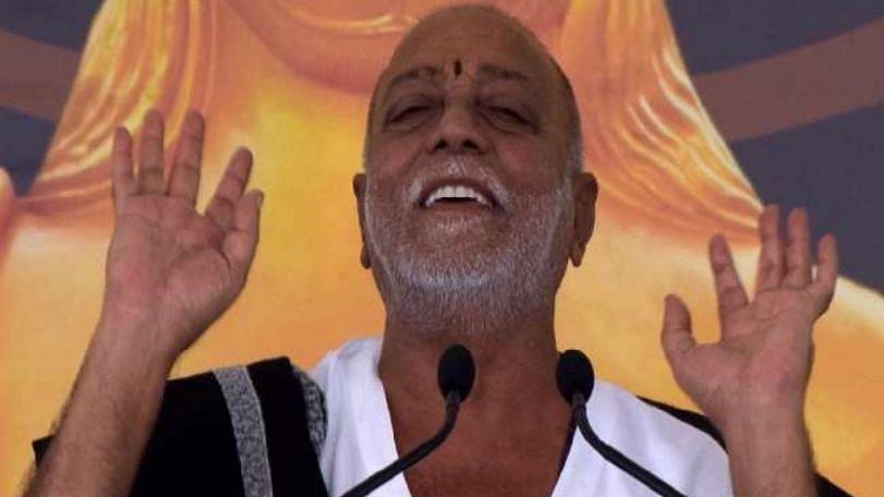 मोरारी बापू ने राम मंदिर निर्माण के लिए मांगा 5 करोड़ का चंदा, हफ्ते भर के अंदर जमा हुए 16 करोड़
