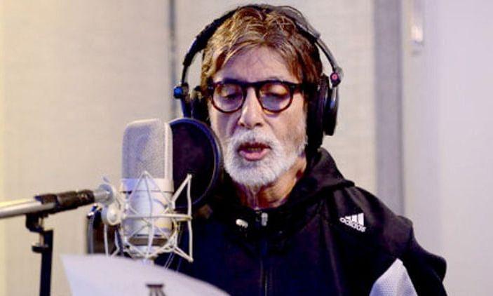 ए आर रहमान की 'अटकन-चटकन' में अमिताभ ने दी अपनी आवाज, गाया ये गाना...