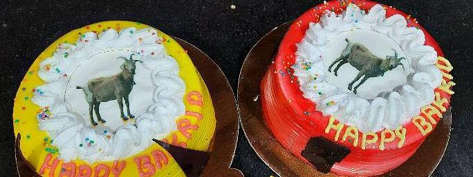 वाराणसी में टूटी परंपरा, बकरीद पर काटे गए बकरे के डिजाइन वाले केक, नहीं दी गई कुर्बानी