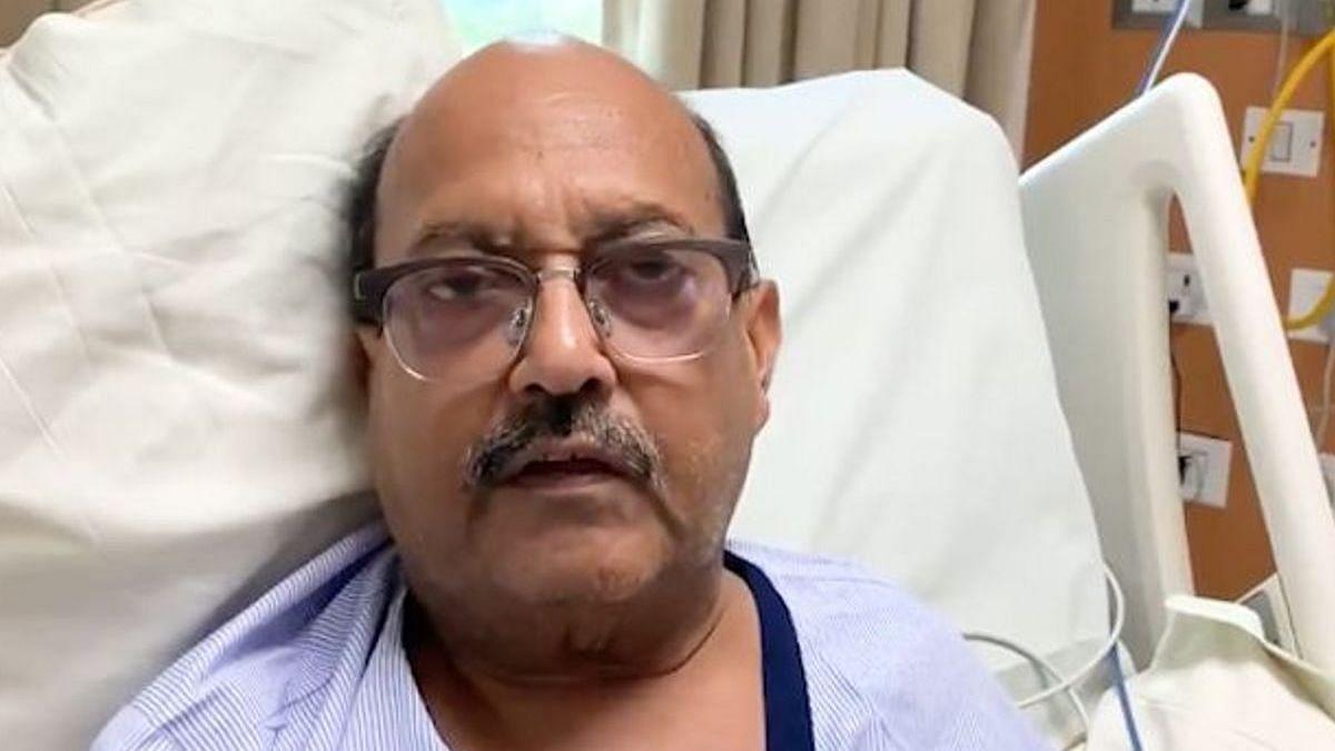 जब अमर सिंह ने अस्पताल के बेड से ही ट्वीट कर मांगी थी अमिताभ बच्चन से माफी...देखें video
