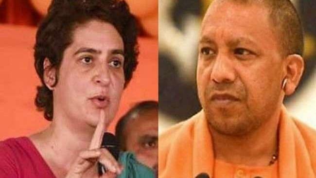 प्रियंका ने CM योगी को फिर लिखी चिट्ठी, कहा- प्रदेश में क्राइम और कोरोना दोनों बेलगाम
