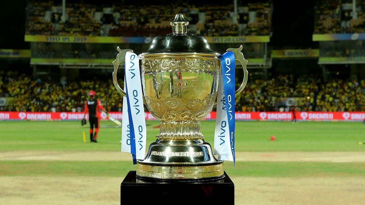 IPL trophy file photo