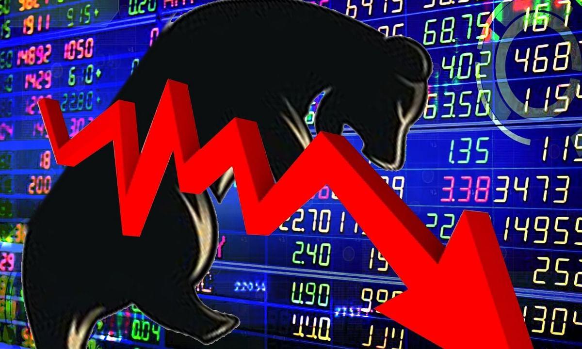 शेयर बाजार की कमजोर शुरुआत, सेंसेक्स 300 अंक से ज्यादा टूटा