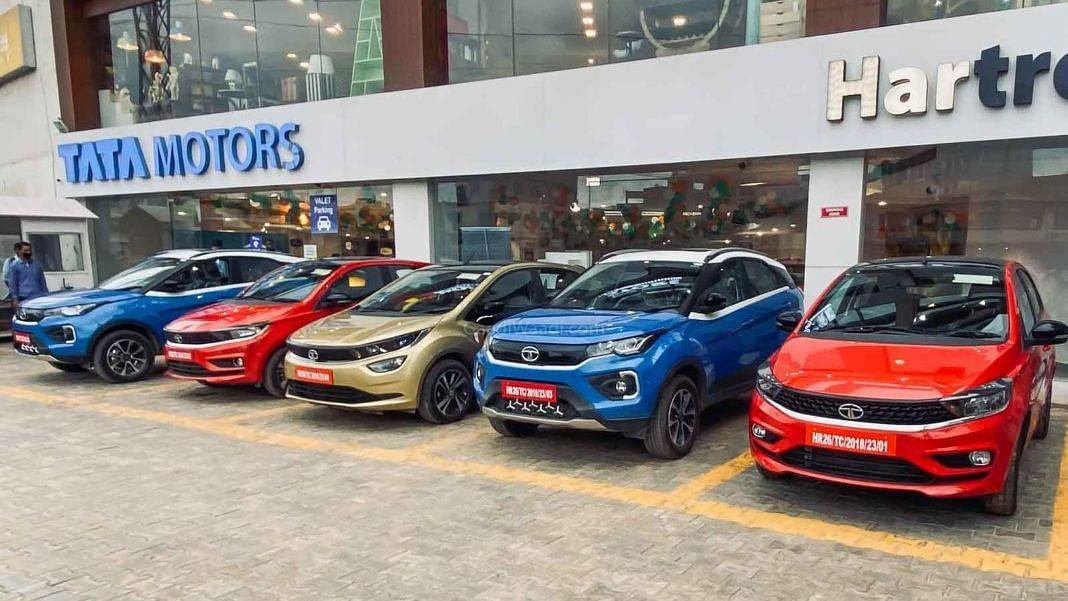 देश में टाटा मोटर्स की बिक्री में 21.6 फीसदी की बढ़त