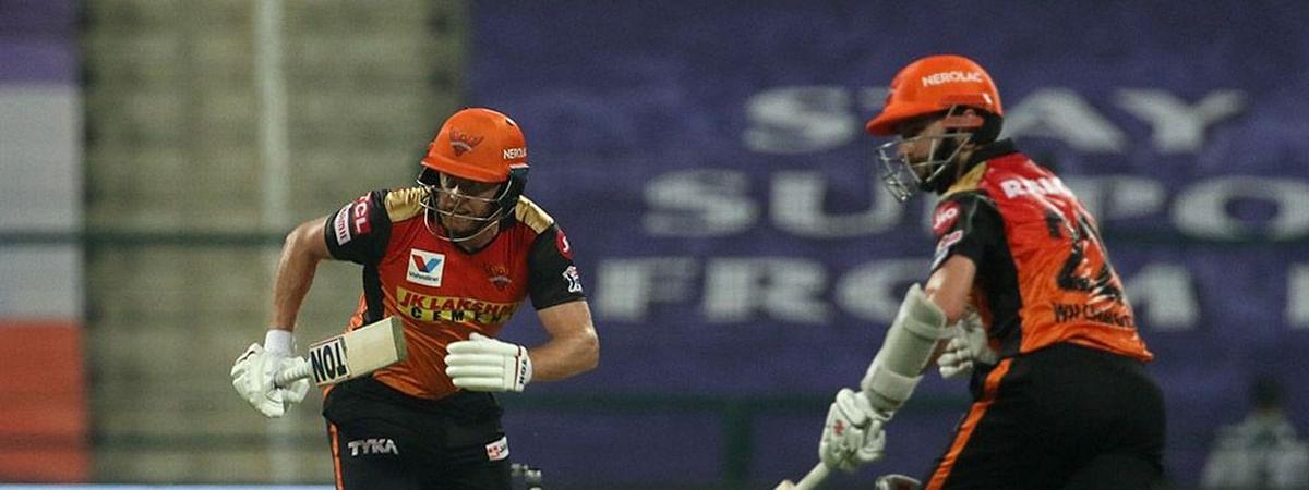 IPL-13: सनराइजर्स हैदराबाद ने दिल्ली कैपिटल्स को 15 रनों से हराया, जॉनी बेयरस्टो ने खेली अर्धशतकीय पारी