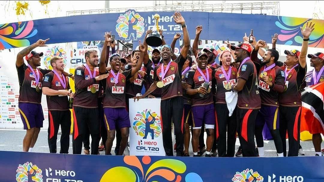 CPL 2020 Final: शाहरुख की त्रिनबागो नाइट राइडर्स ने प्रीति जिंटा की सेंट लूसिया जॉक्स को हराया, चौथी बार जीता खिताब