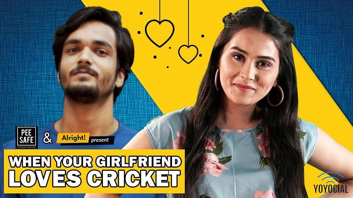 Alright : When Your Girlfriend Loves Cricket   Ft. Anushka Sharma & Parikshit Joshi
