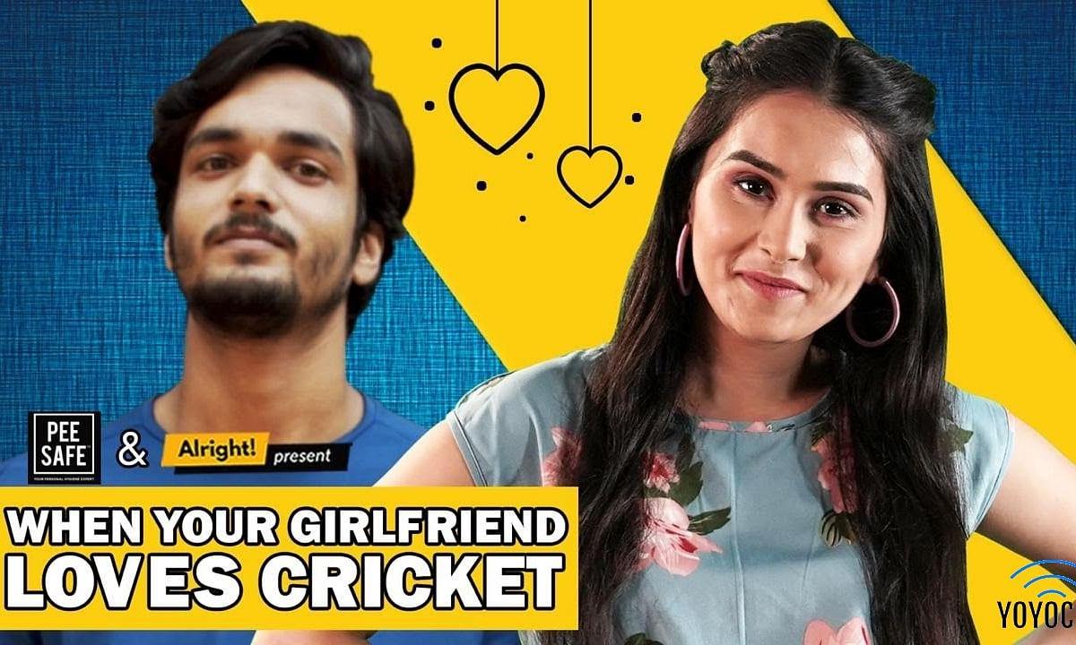 Alright : When Your Girlfriend Loves Cricket | Ft. Anushka Sharma & Parikshit Joshi