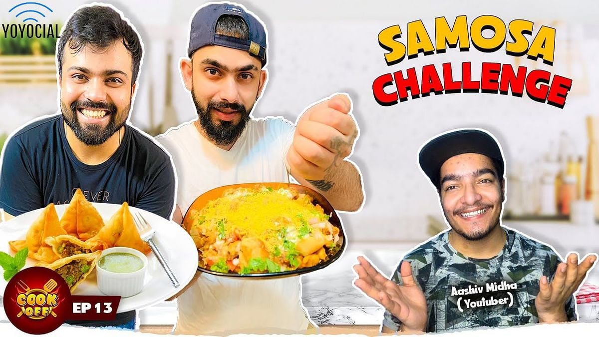 Samosa Cooking Challenge ft. Aashiv Midha | Pizza Samosa vs Samosa Chaat [Cook Off#13]
